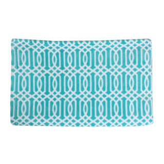 Thro by Marlo Lorenz Lattice Print Fleece Throw
