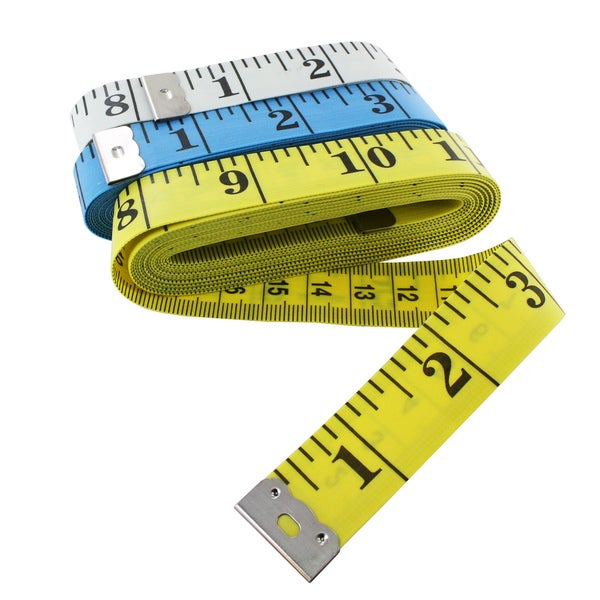 Junipers Soft Vinyl 120 Inch Tape Measure (Pack of 3)