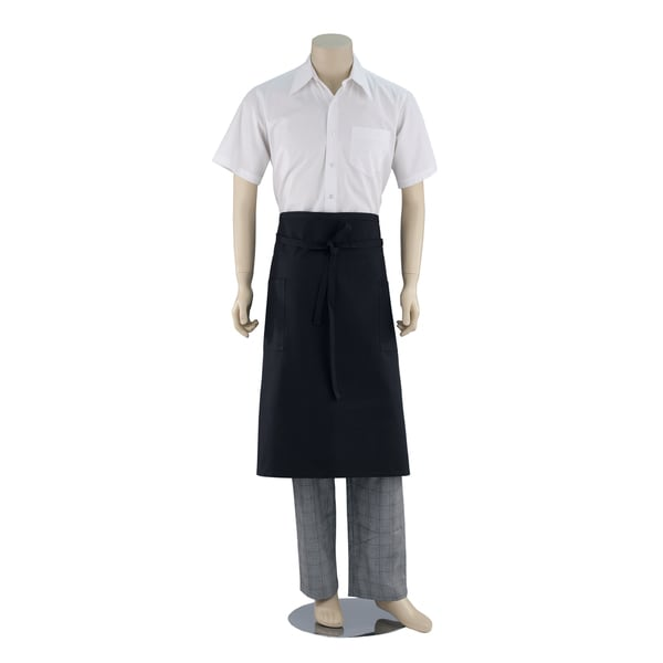 Black Bistro Denim Apron