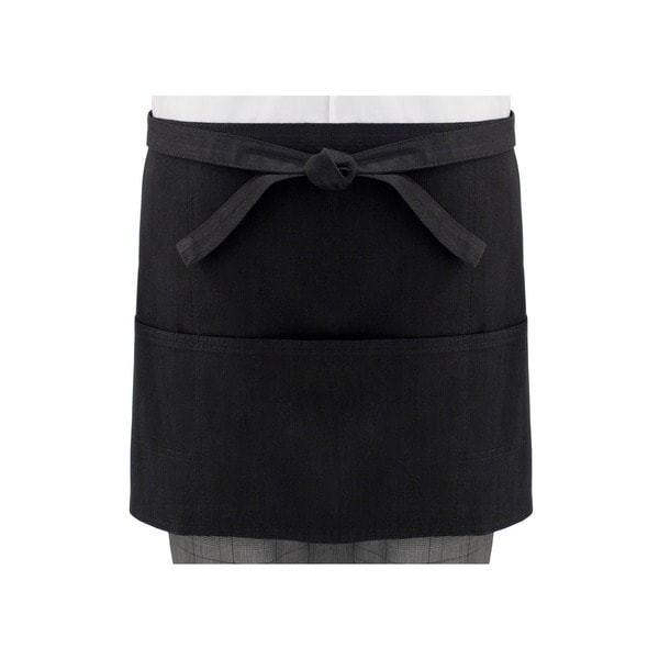 Black Short Server's Denim Apron