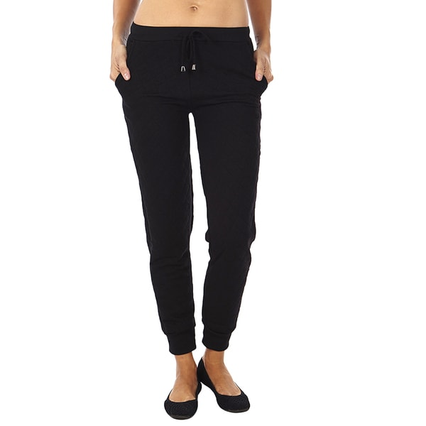 Dinamit Women's Quilted Joggers Pants