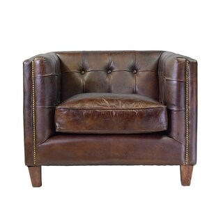 Chaise lounges living room chairs overstock shopping for Bella chaise dark brown