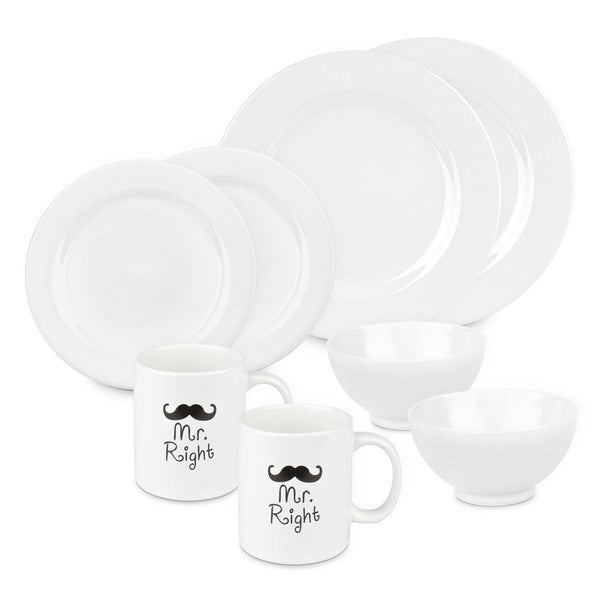 Waechtersbach Mr and Mr Right Dinnerware Set