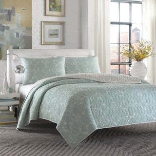 City Scene Giani Teal 3-piece Quilt Set