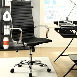 Kaffinue Modern Design High Back Executive Black Office Chair