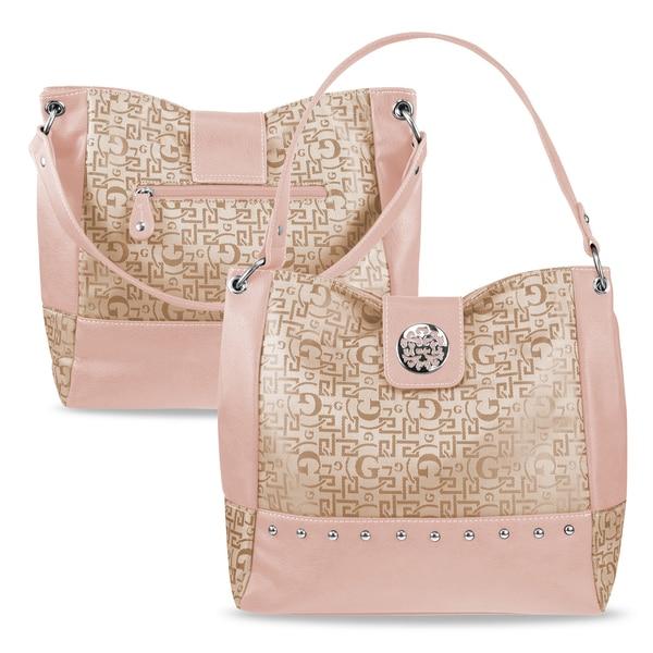 Zodaca Women Jacquard Fabric Satchel Bag K1535