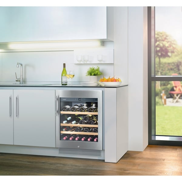 Liebherr WU 4500 Grand Cru 24-inch Under Counter Wine Cabinet