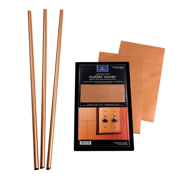 Aspect Backsplash Accessory Kit in Copper