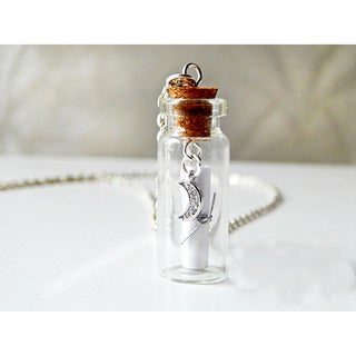 I Love You to the Moon and Back Message in a Bottle