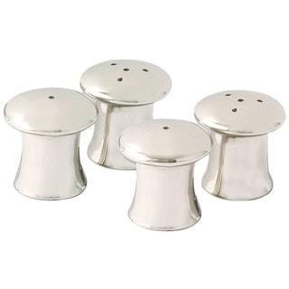Elegance Mushroom Salt & Pepper Shakers - Set of 4