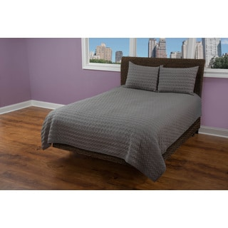 Rizzy Home Urban Grey Quilt