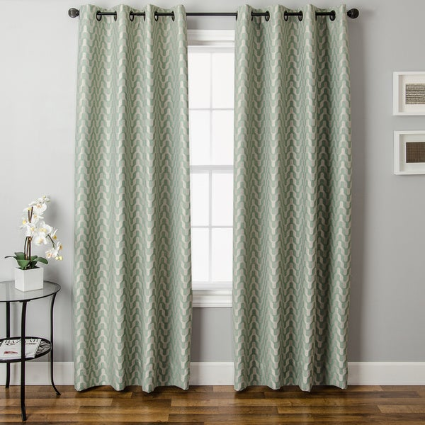 Varna Grommet Top Curtain Panel 17140389