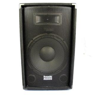 Acoustic Audio DR12 Pro 12-inch Speaker PA DJ Karaoke Band 600 Watts 2 Way