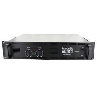 Acoustic Audio PA1000 Amp Two Channel 1000 Watt Pro Audio Power Amplifier PA DJ
