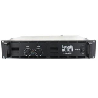 Acoustic Audio PA2000 Amp Two Channel 2000 Watt Pro Audio Power Amplifier PA DJ