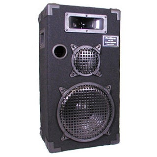 Podium Pro E1000C Studio Speaker 10-inch Three Way Pro Audio Monitor for PA DJ Home or Karaoke