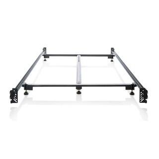 Structures Steelock Hook-in Headboard-footboard Heavy-duty Steel Bed Frame Cal King Metal Bed Rails