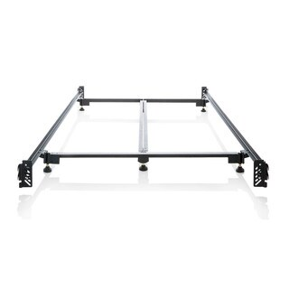 Structures Steelock Hook-in Headboard-footboard Heavy-duty Steel Bed Frame Queen Metal Bed Rails