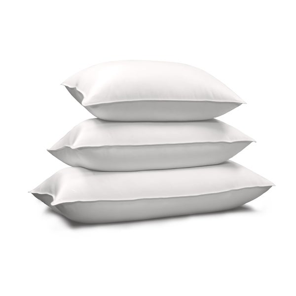 Hotel Grand 1000 Thread Count Egyptian Cotton Siberian White Down Pillow King Size (As Is Item)