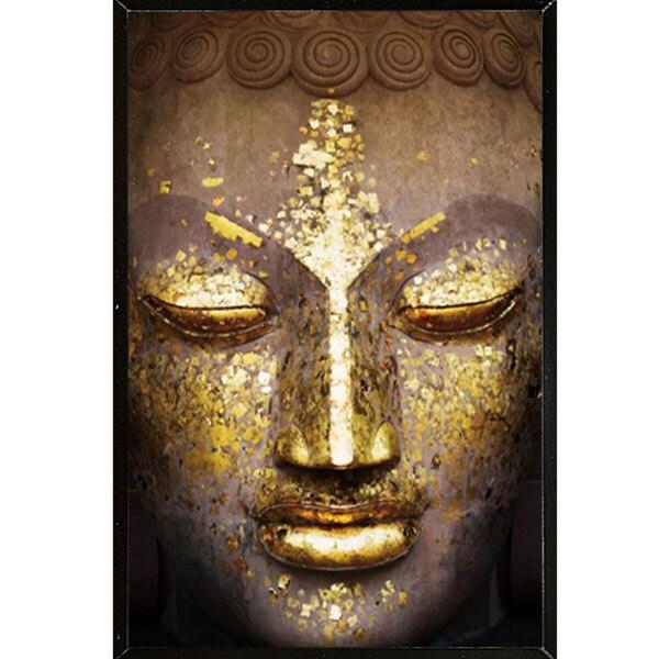 Buddha Gold Wall Plaque (24 x 36)
