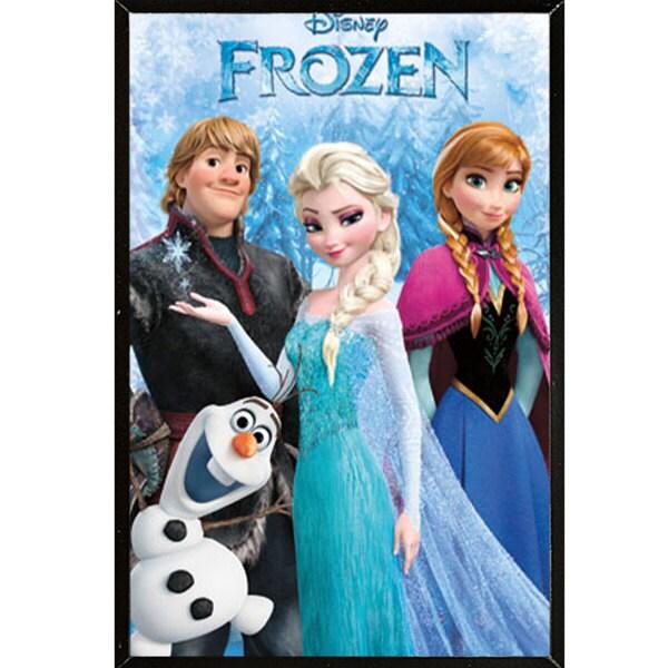 Frozen Wall Plaque (22 x 34)