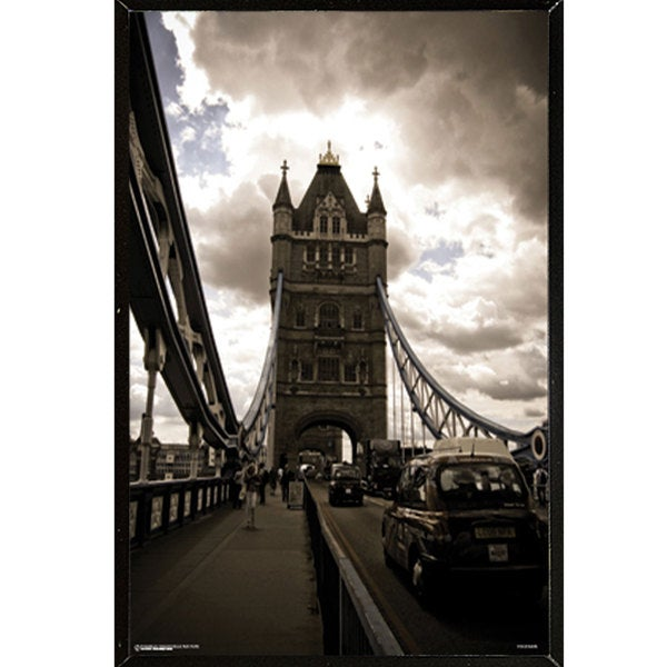 Tower Bridge London Plaque (24 x 36)