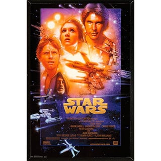 Star Wars Episode 4 Plaque (22 x 34)