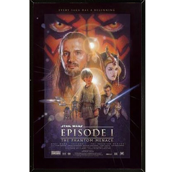 Star Wars Episode 1 Plaque (22 x 34)