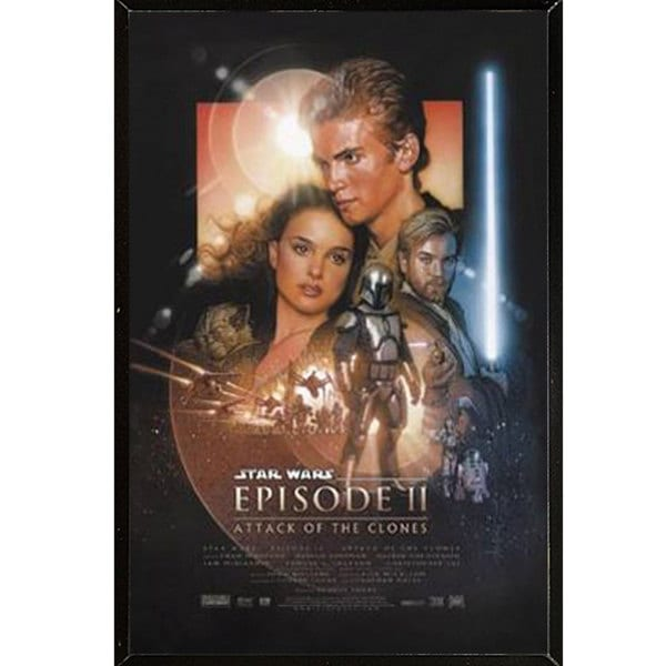 Star Wars Episode 2 Plaque (22 x 34)