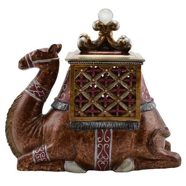"""10"""" H Arabian Camel Keepsake Box"""