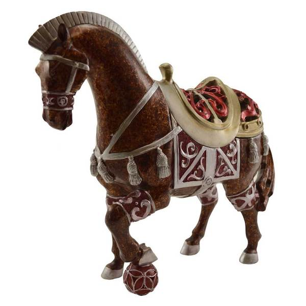 "11.8"" H Arabian Horse Keepsake Box"