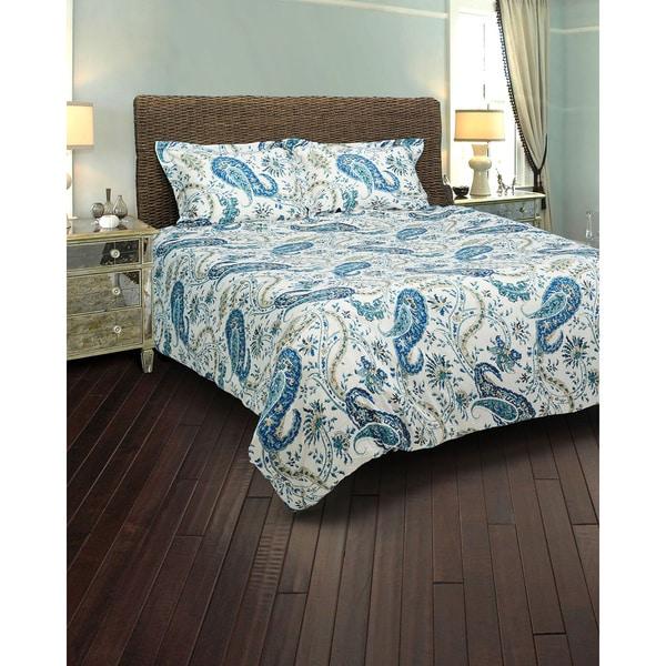 Rizzy Home Paisley Comforter Set