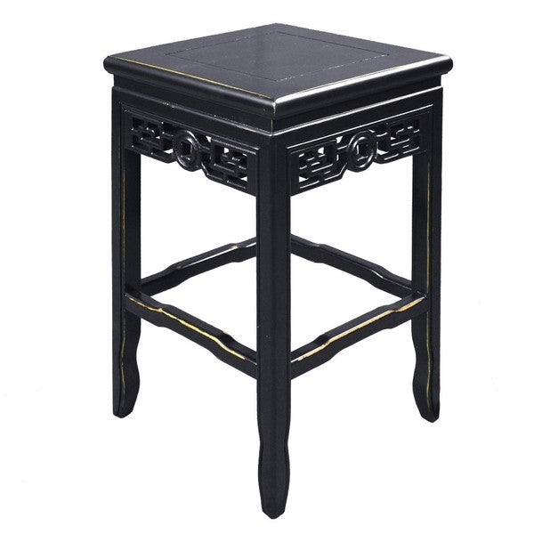 Pearl Chinese Inspired Lacquer Side Table