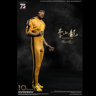 Enterbay RM-1127 Bruce Lee Kung Fu Master Legend 75th Anniversary 1:6 Action Figure