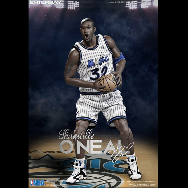 Enterbay X Shaquille O'Neal LA Lakers Magic Real Masterpiece NBA 1:6 Action Figures Figurine Collection RM-1063 17147049