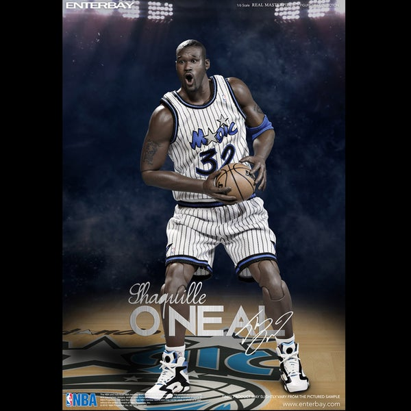 Enterbay X Shaquille O'Neal LA Lakers Magic RM-1063 Real Masterpiece NBA Collection 1:6 Action Figure 17147049