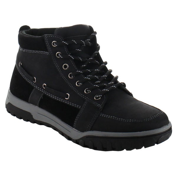 EDDIE MARC 33023 Men's Stylish Lace Up Ankle Booties