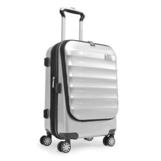 Adrienne Vittadini 21-inch Expandable Carry-on Hardside Spinner Business Suiter Suitcase