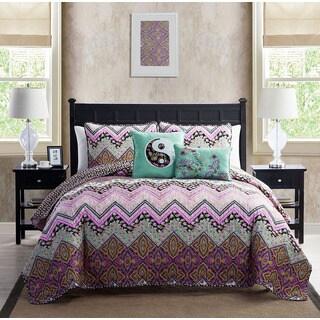 VCNY Chelsea 5-piece Quilt Set