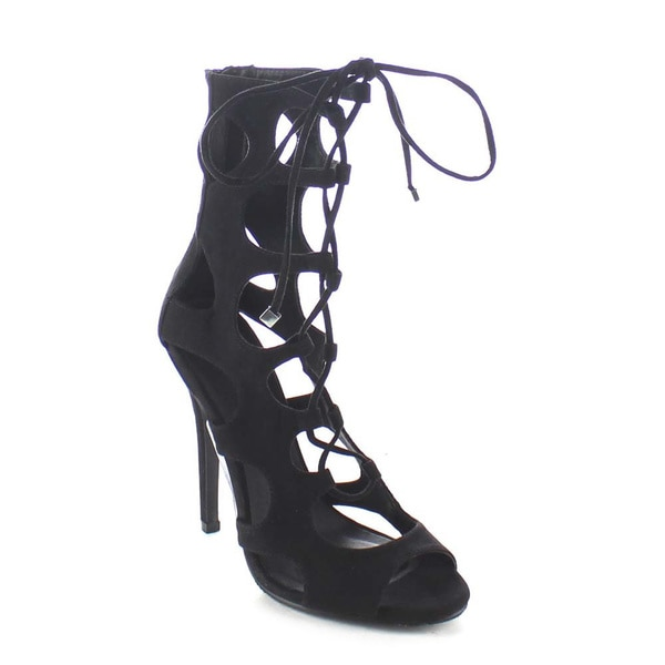 Beston BA86 Women's Cut Out Dress Shoes