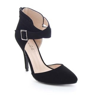 Beston BA95 Women's Ankle Strap Pump