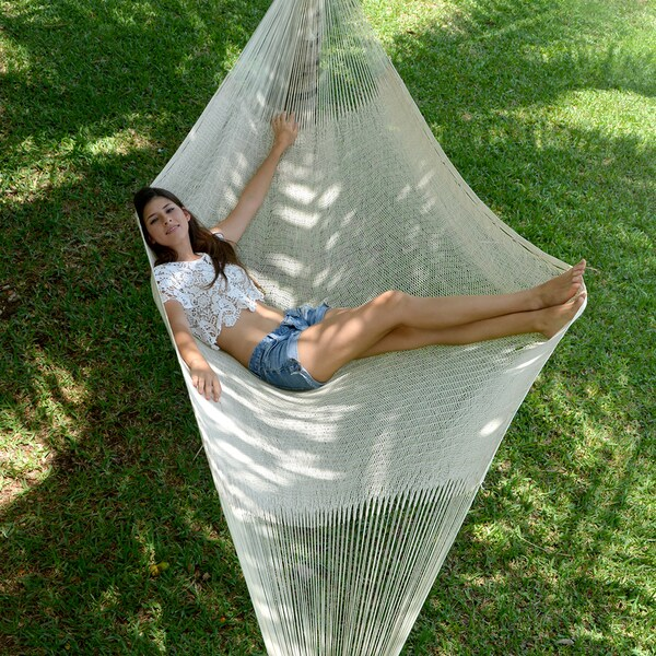 Individual Hammock Overstock#6 White Color