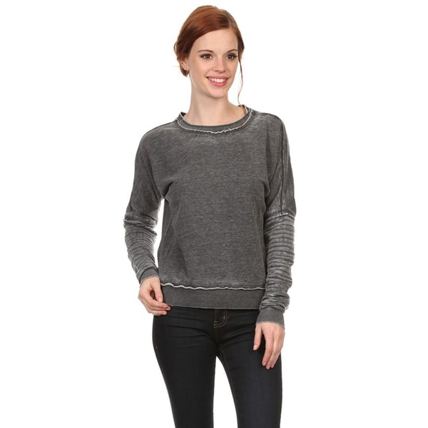 Women's Mineral Wash Pull-over