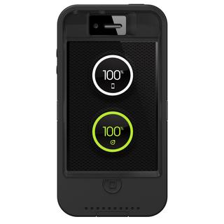 OtterBox 77-25819 Defender Case for iPhone 4/4s w/ Ion Intelligence - Black (Refurbished)