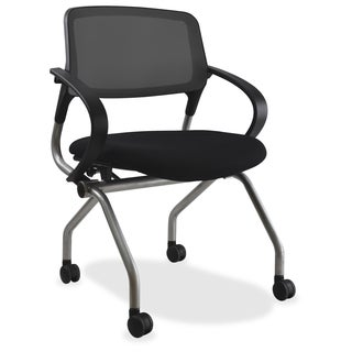 Lorell Mesh Back Training Chair with Casters (Set of 2)