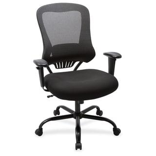 Lorell 400 lb Capacity Mesh Back Executive Chair - (1/Each)