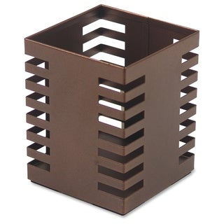 Lorell Stamped Metal Square Pencil Cup - (1/Each)