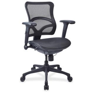 Lorell Full Mesh Mid-back Chair - (1/Each)