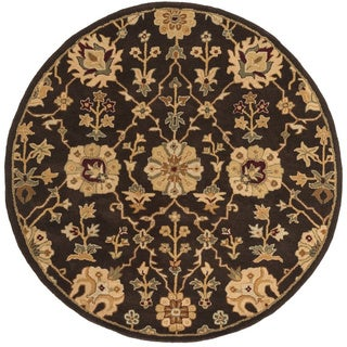 Artistic Weavers Hand-Tufted Amble Floral Wool Rug (3'6 Round)