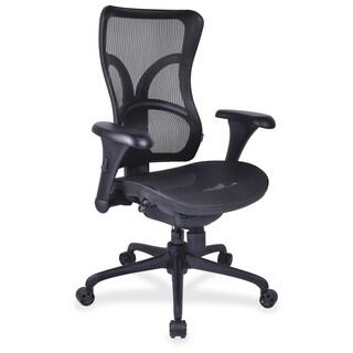 Lorell Full Mesh High Back Adjustable Chair - (1/Each)